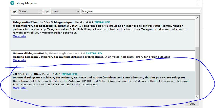 Belajar ESP32, Notifikasi Sensor DHT11 dengan Telegram
