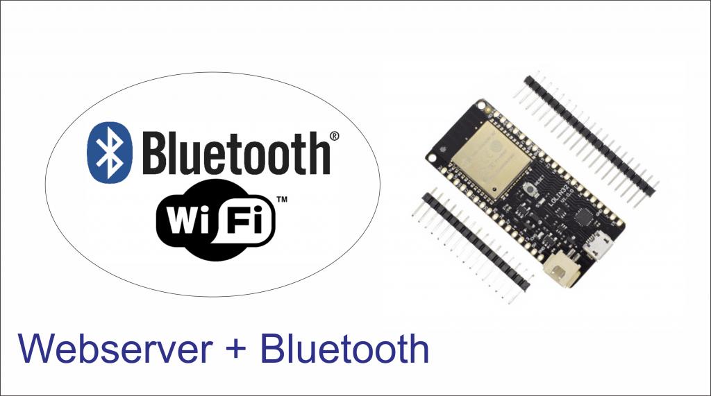 Belajar ESP32, Tutorial Webserver dan Bluetooth