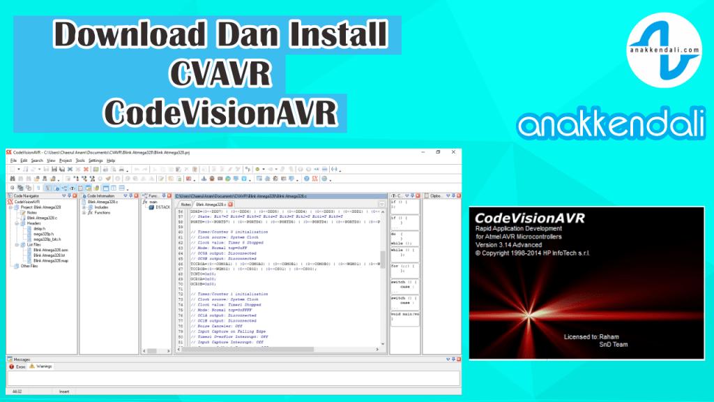 Download Install CVAVR Full version