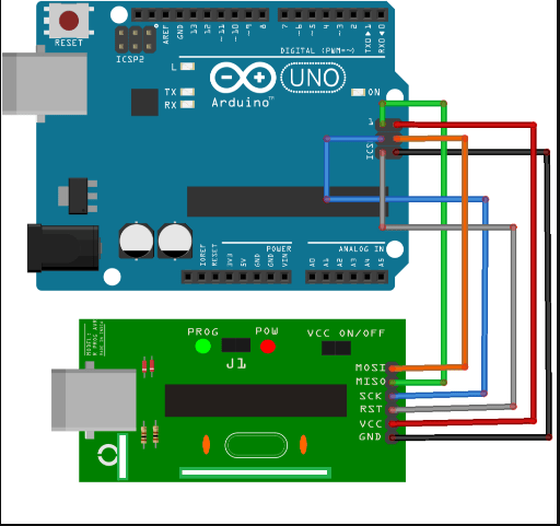 Cara Upload Program Arduino dengan USBasp