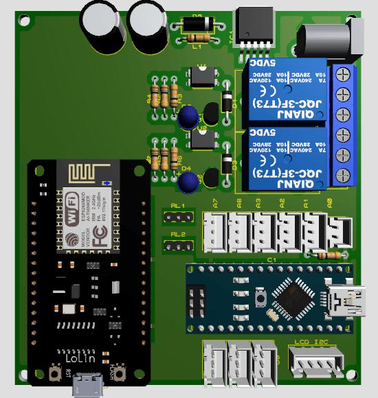 Download Desain PCB Arduino dan NodeMCU Proteus 8