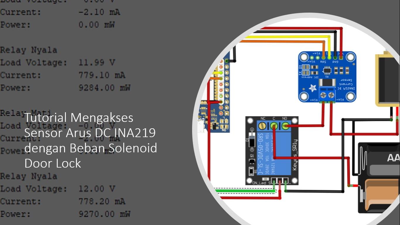 ESP32 Sensor Arus INA219