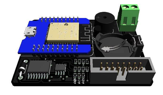 Tutorial ESP32 Menampilkan Teks DMD P10 dengan Library DMD32