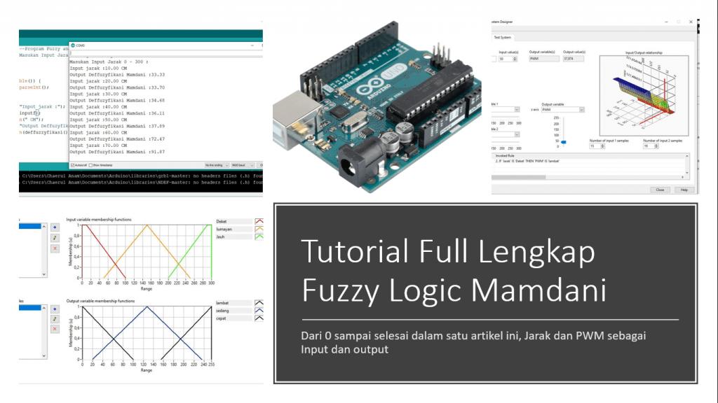Tutorial Lengkap Fuzzy Logic Arduino Mamdani