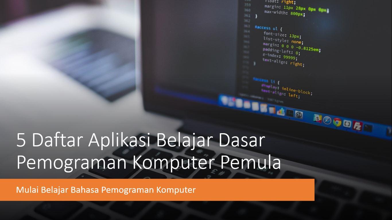 daftar aplikasi pemograman