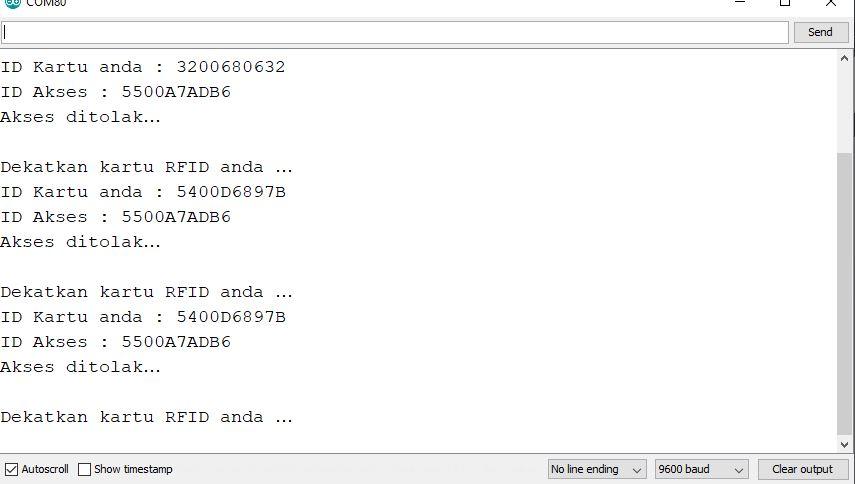 Tutorial ESP32 Mengakses RFID RDM6300 125Khz