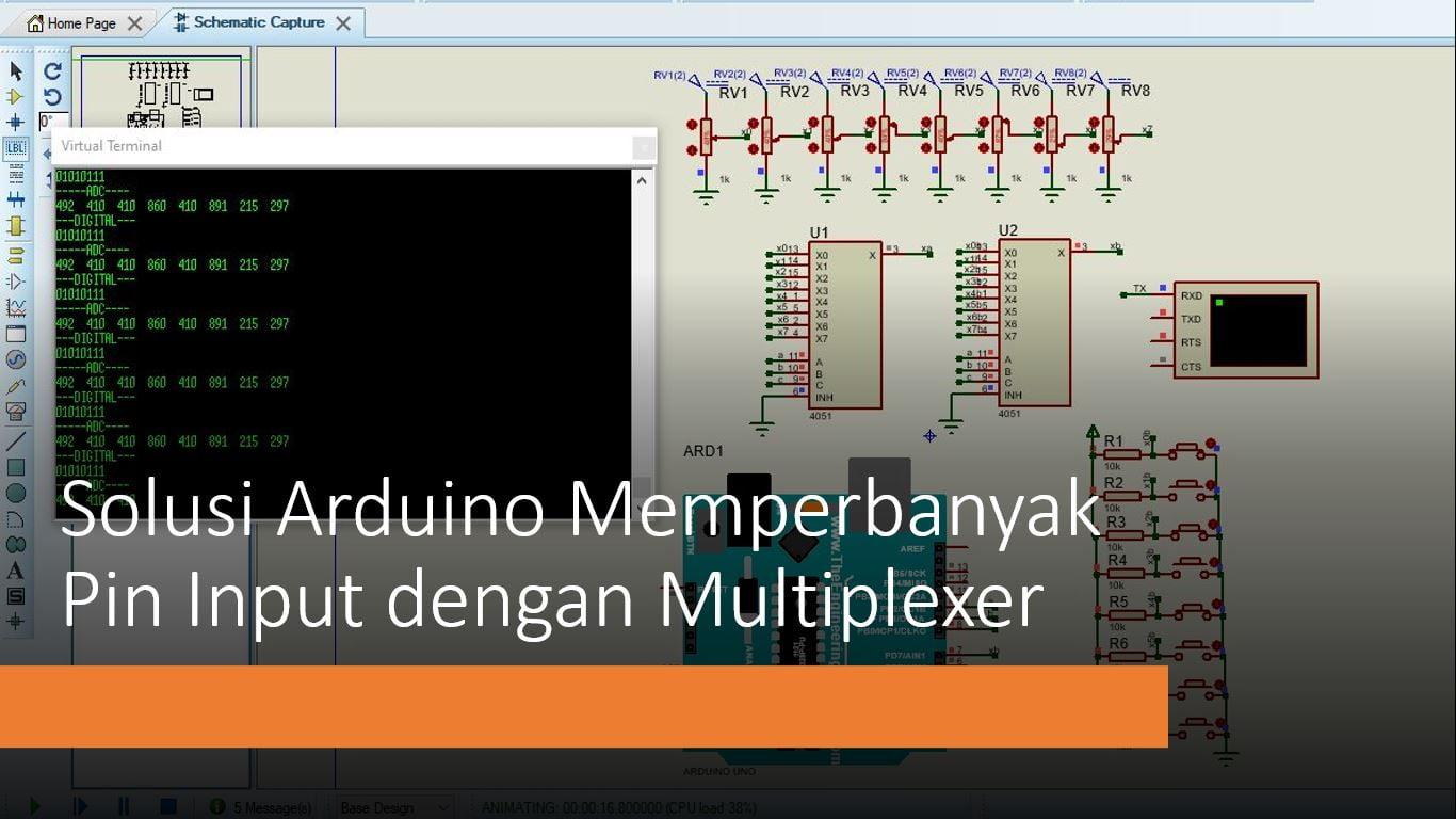 Tutorial Arduino Multiplexer